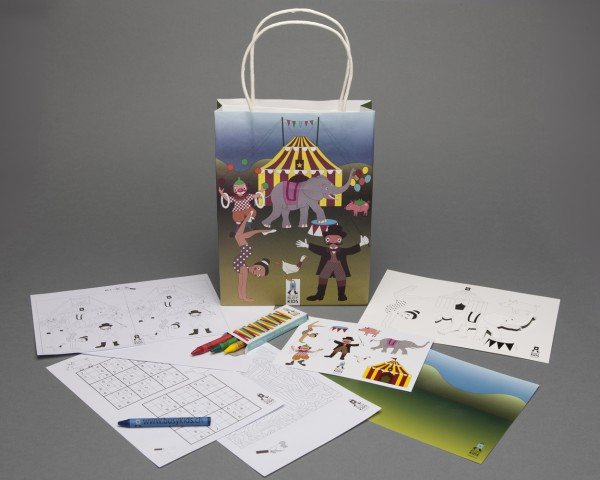 Activity Bags - Einzel: Zirkus